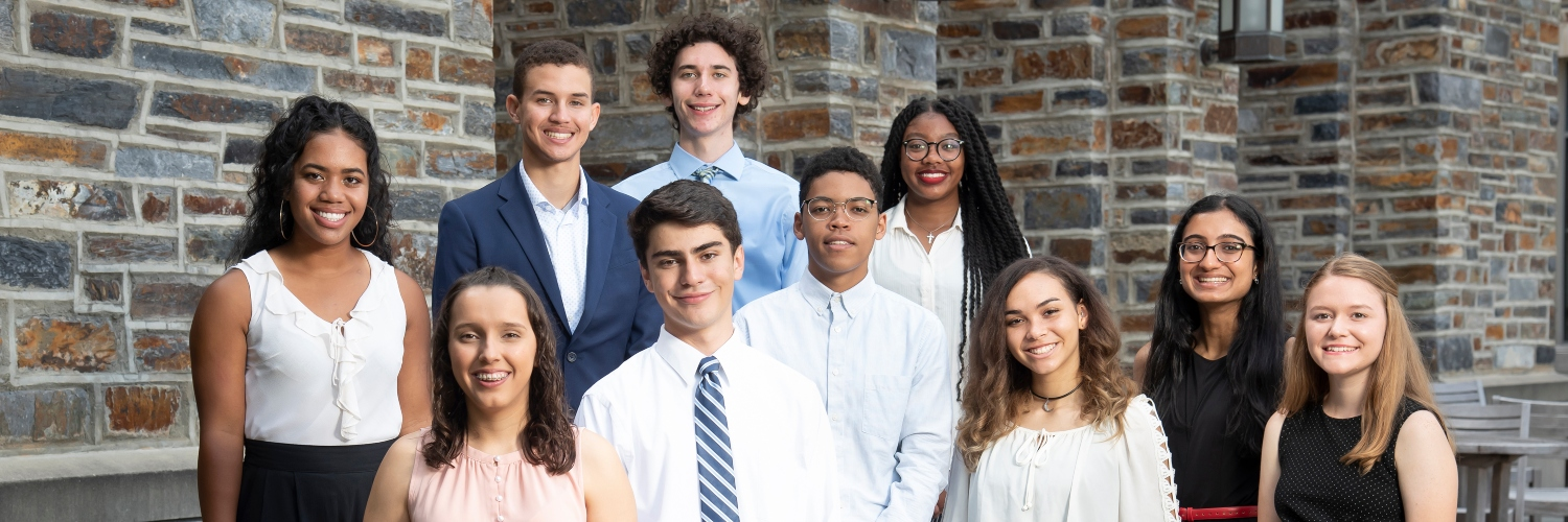 James A. Clark Scholars at Duke University - Cohort 2, 2019