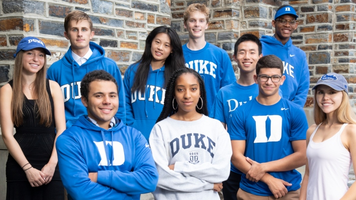 The A. James Clark Scholars at Duke in fall 2018.