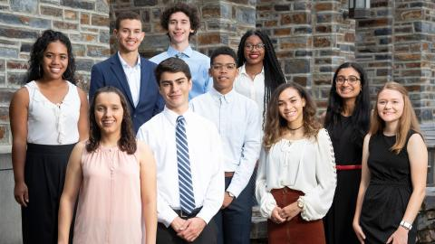 Class of 2023 A. James Clark Scholars Arrive at Duke